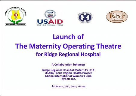 Ridge Hospital Ghana Ridge Regional Hospital Was