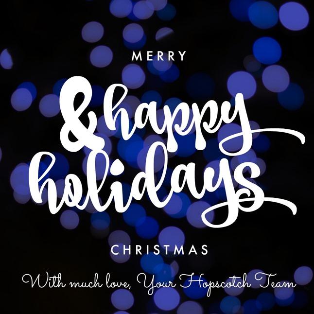 Merry Christmas 2017 Hopscotch