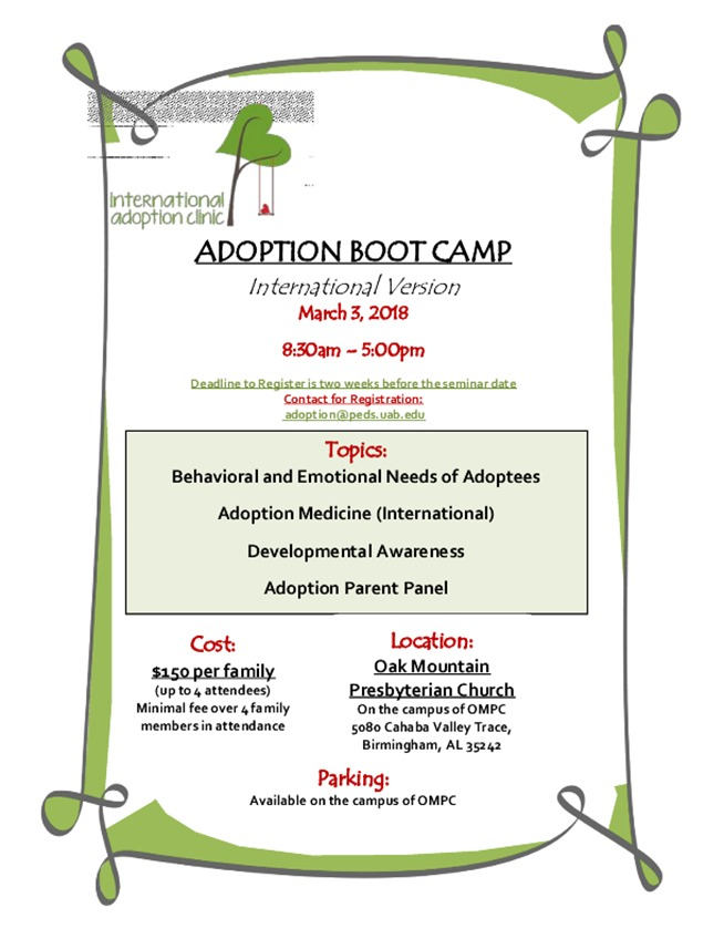 FLYER - IAC Adoption Boot Camp